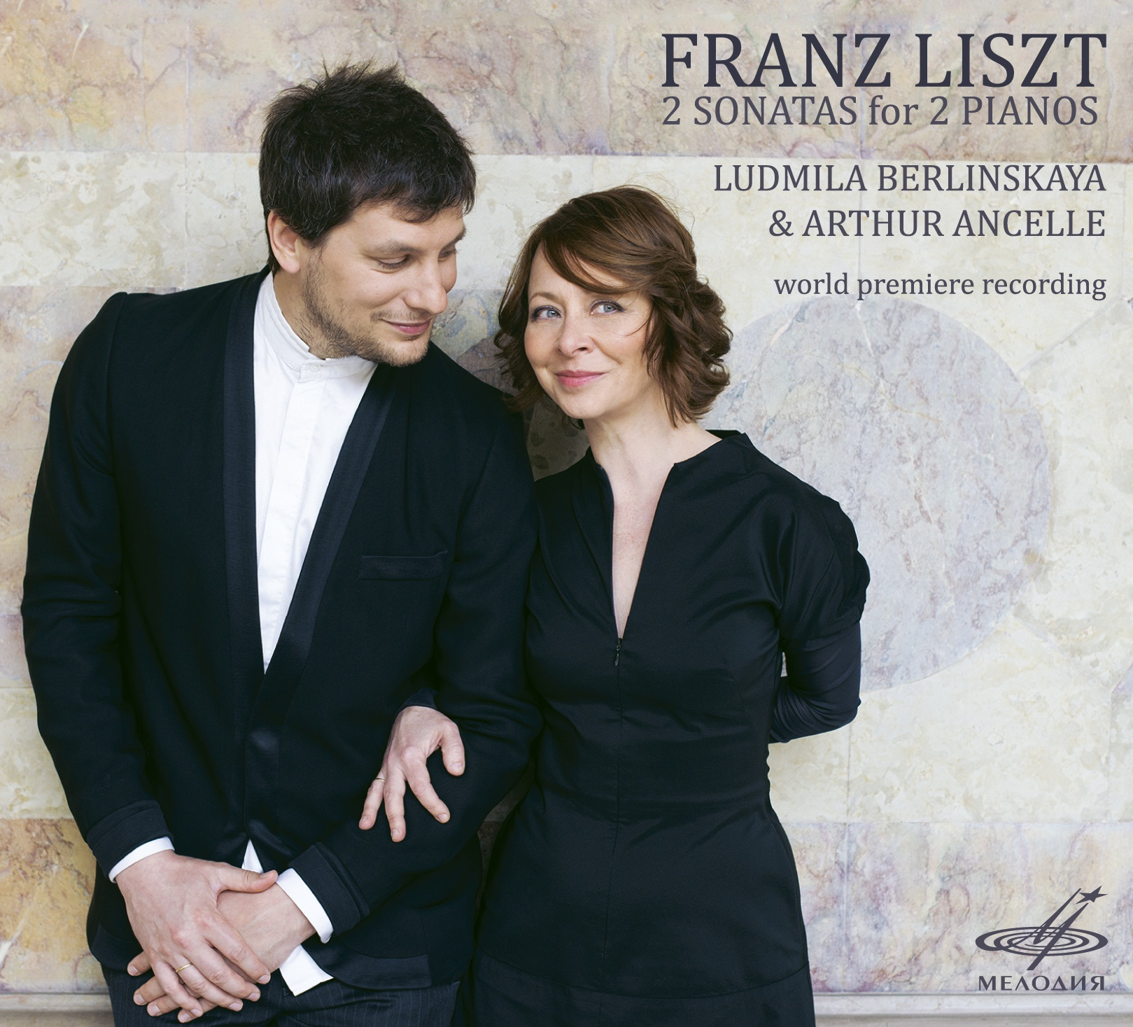 Franz Liszt: 2 Sonatas for 2 Pianos