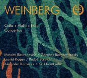 Moisey Weinberg: Concerto for Violin, Cello, Flute